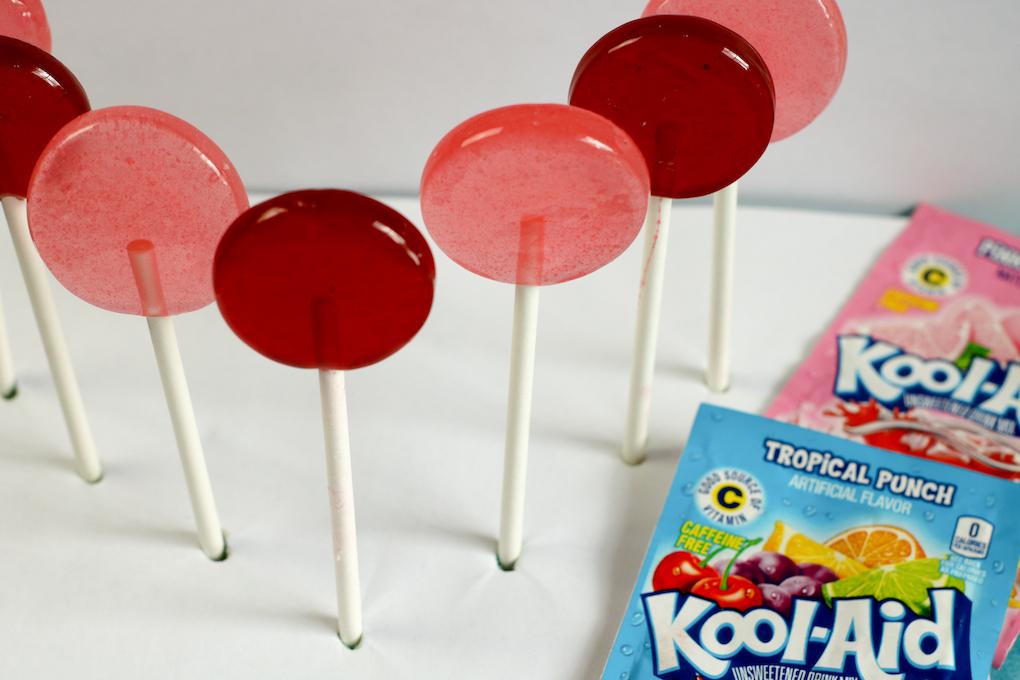 Koolaid Lollipops
