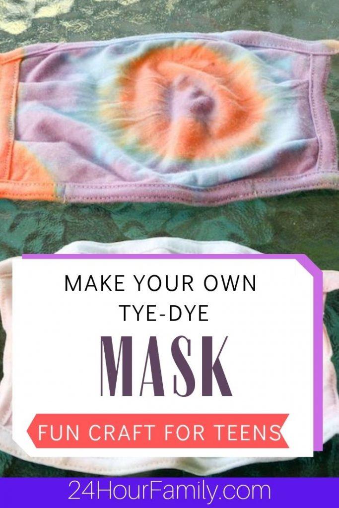 Make your own ye dye mask