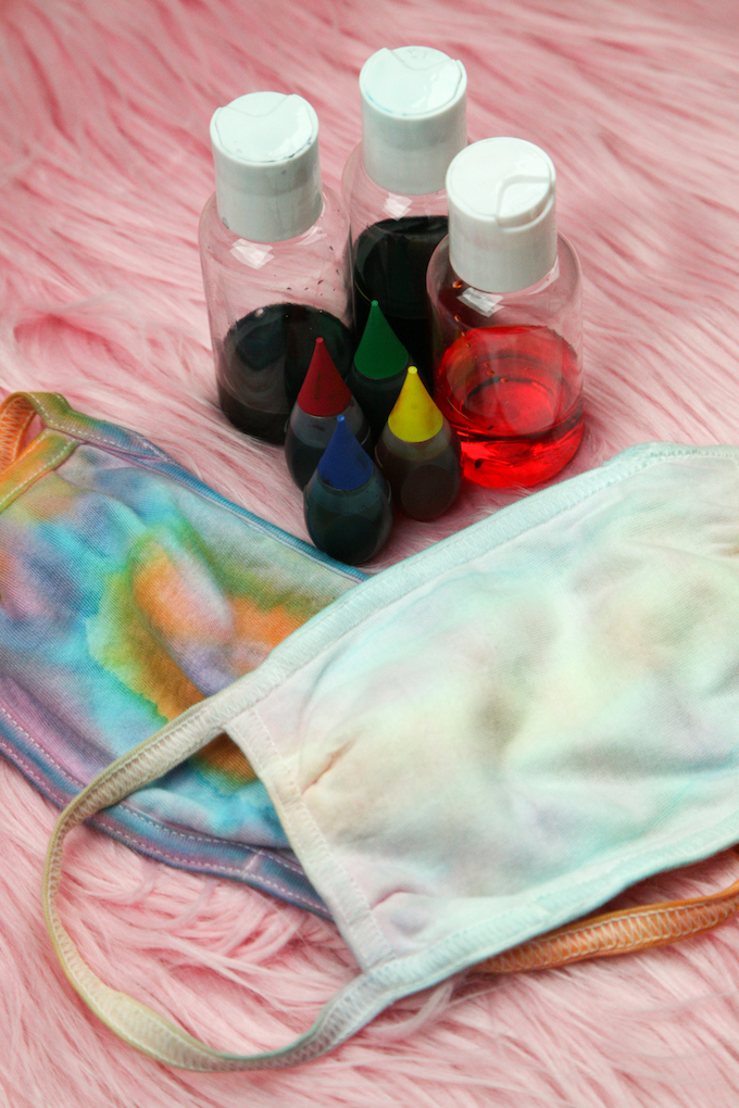 Materials for the dye masks