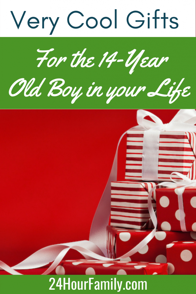 Very cool gift ideas for the 14- year old boy in your life
