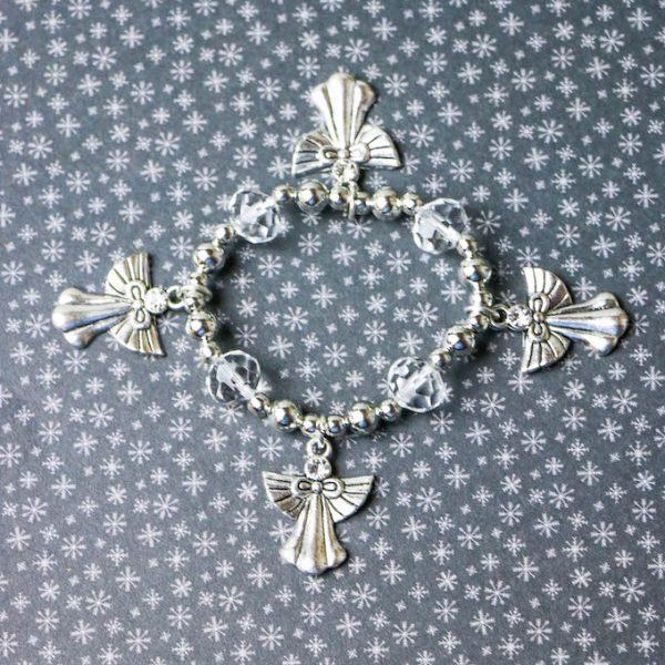 how to make an angel charm bracelet